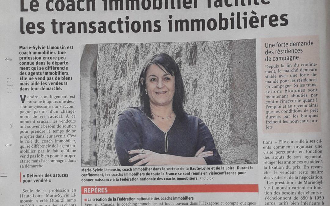 Le coach immobilier facilite les transactions immobilières